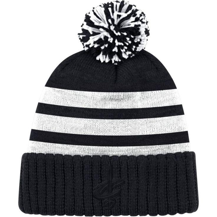 Mitchell & Ness Men's Cleveland Cavaliers Tonal Black Cuffed Knit Hat, Team
