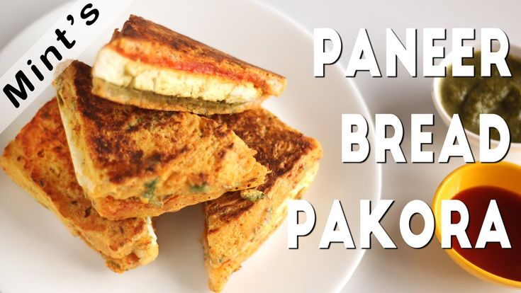 Bread Paneer Pakora Sandwich Recipe In Hindi-Indian Breakfast Recipes-Ki...