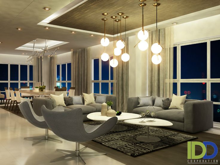 The interior design of Penthouse model P - Happy Valley