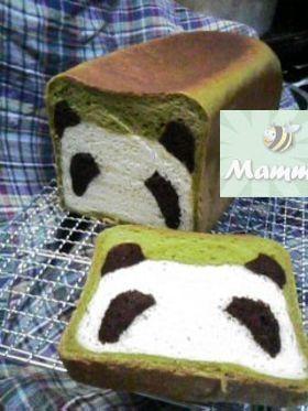 Pane a forma di panda