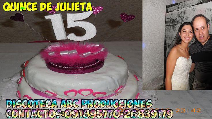 QUINCE DE JULIETA  CLUB LOMAS  SOLYMAR DISCOTECA ABC PRODUCCIONES 091895...