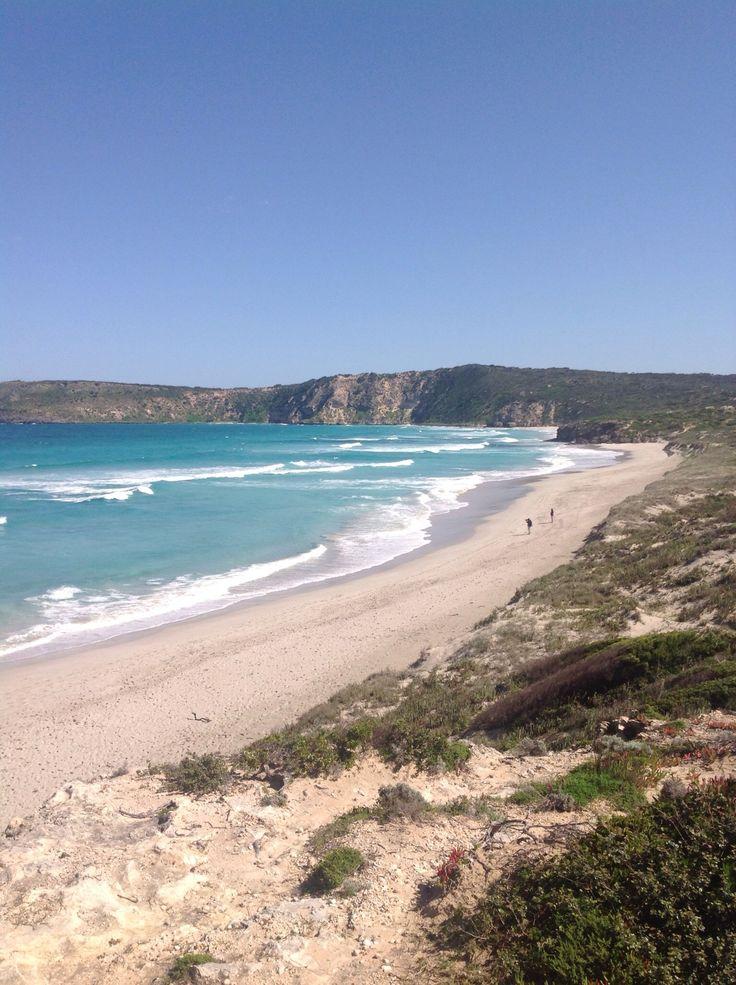 Beautiful Pennington Bay on the south coast of Kangaroo Island.