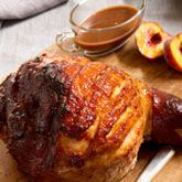 Peach and Rum Glazed Ham - Coles Recipes & Cooking