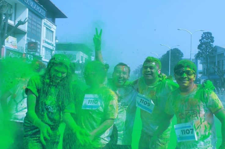 The Color Run 2014 for the First Time in Nepal