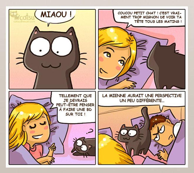 Vous vivez avec un chat ? Alors cette bande dessinée va forcément vous parler ! – Planet Du Net