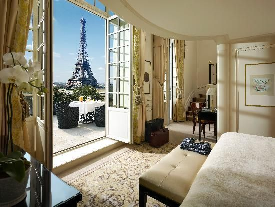 """Shangri La Hotel Paris:  """"It felt like we could touch the tower and added to our special Paris experience."""""""