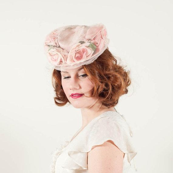 vintage 1940s Easter Parade tilt hat: Tilt Hats, Hatshat Boxshat, Hats Hats Boxes S Hats, Boxes S Hats Pin, Vintage Hats, 1940S Hats, Fancy Hats
