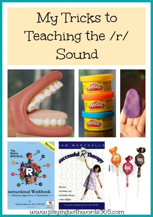 Great blog post for teaching the /r/ sound!