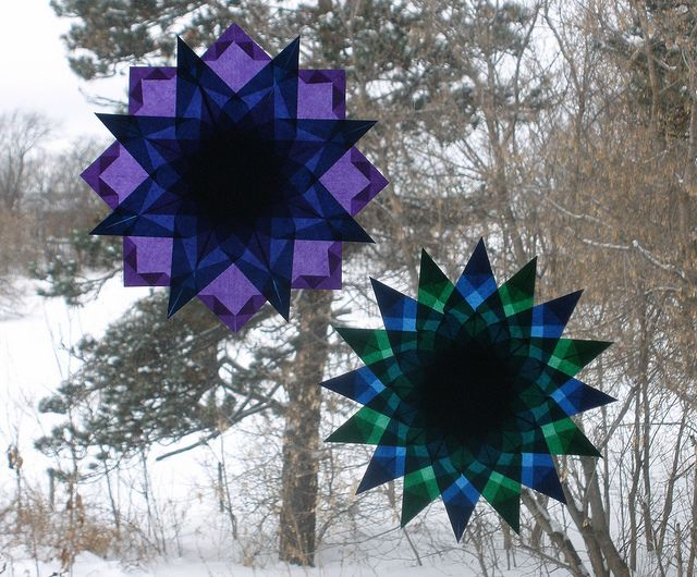 Winter Stars by Pictures by Ann, via Flickr