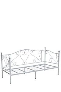 SCROLL METAL SINGLE DAY BED