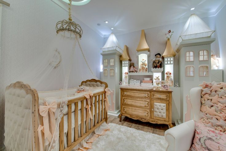 Astounding Sports Themed Nursery Ideas in Nursery Traditional design ideas with canopy bed castle crib bedding crown girls