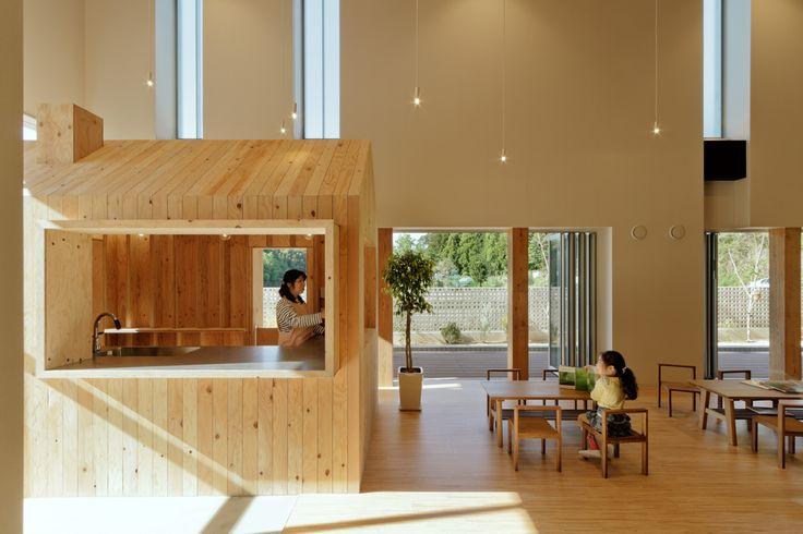 Image 1 of 34 from gallery of TN Nursery  / HIBINOSEKKEI + Youji no Shiro. Photograph by Studio Bauhaus, Ryuji Inoue