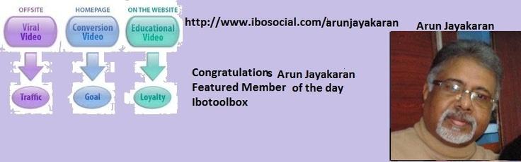 Congratulations: Jayakaran, Arun  http://www.ibosocial.com/arunjayakaran