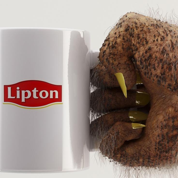 Everyone's invi-TEA-d  Everyone likes Lipton. Even far away from earth    Visual 3 - close up