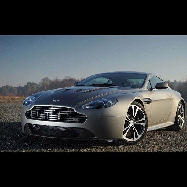 Stunning shot of a Aston Martin Vantage V12