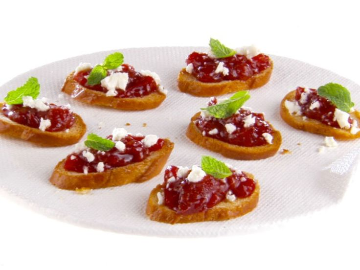 Get this all-star, easy-to-follow Strawberry-Tomato Jam Crostini recipe from Giada De Laurentiis