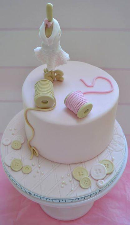 Dressmakers Birthday Cake