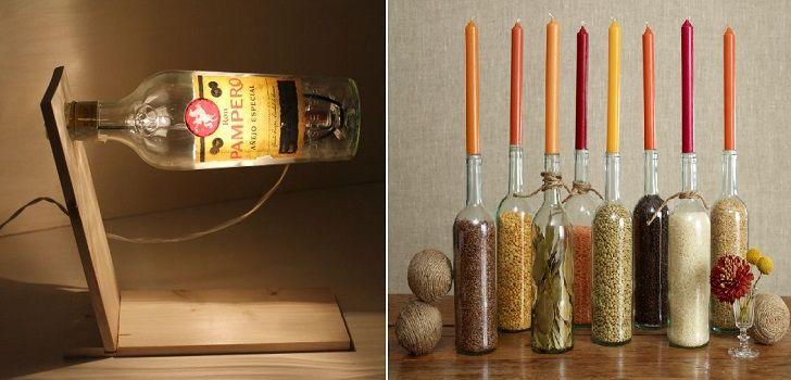 10 idee per riciclare le bottiglie