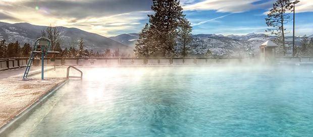 Hot Springs in Calgary. Let's GO. Canago