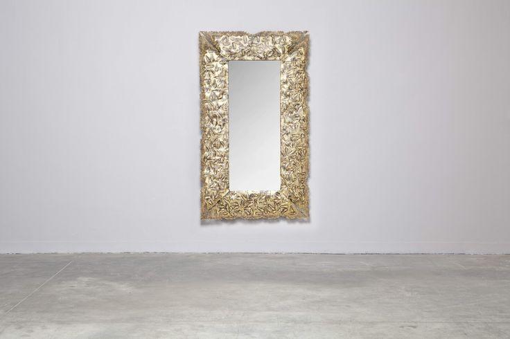 Mirror Line Brass Short by ENDSIDE ORIGINALS