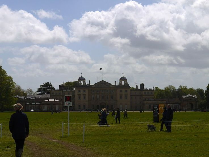 Badminton House looking great at the 2014 Badminton Horse Trails