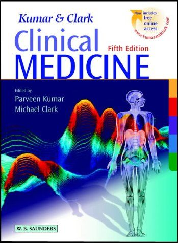 Clinical Medicine 5th edition (2002) by Parveen Kumar, Michael Clark - the first edition to offer online content