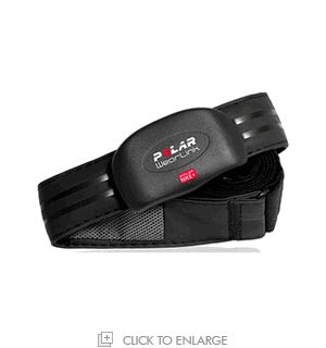 Polar Nike+ Wearlink+ Coded Chest Transmitter and Elastic Strap