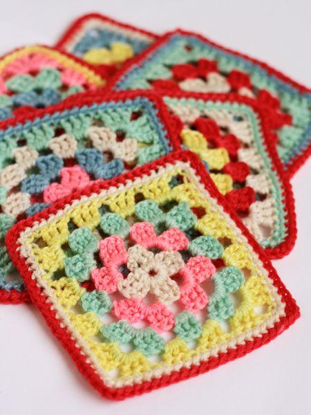 Cath Kidston Crochet Kit colours... cute dishcloths