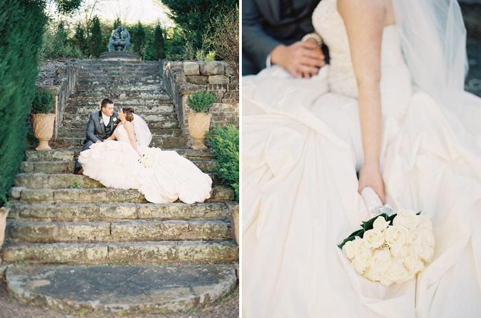 rachel + daniel   exquisite garden wedding at camelot, camden » Leah Kua