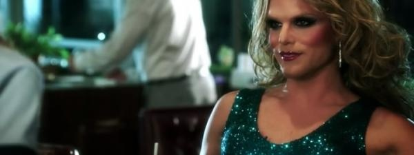 This image is an example of a transgender stereotype in television, in which a transgender like homosexuals were cast only as either victims or villains.