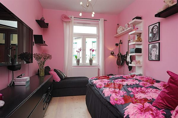 11 best blue and pink rooms images on Pinterest   Bedrooms, Blue ...