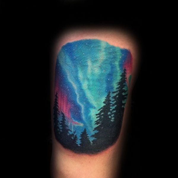 Best 25 northern lights tattoo ideas on pinterest for Best tattoo artists in northern california