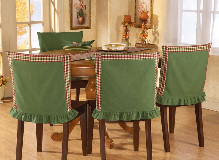 red and green christmas dining room - Bing images