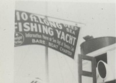 1940s-50s photos Dixie Queen & Queen Mary charter fishing Yachts, prob. FLORIDA