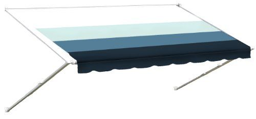 Recreational Vehicle Plastic Awning Substitute Material - Pacific Blue 18' - http://onlinebusiness-rc.com/carstereo/rv-vinyl-awning-replacement-fabric-pacific-blue-18/