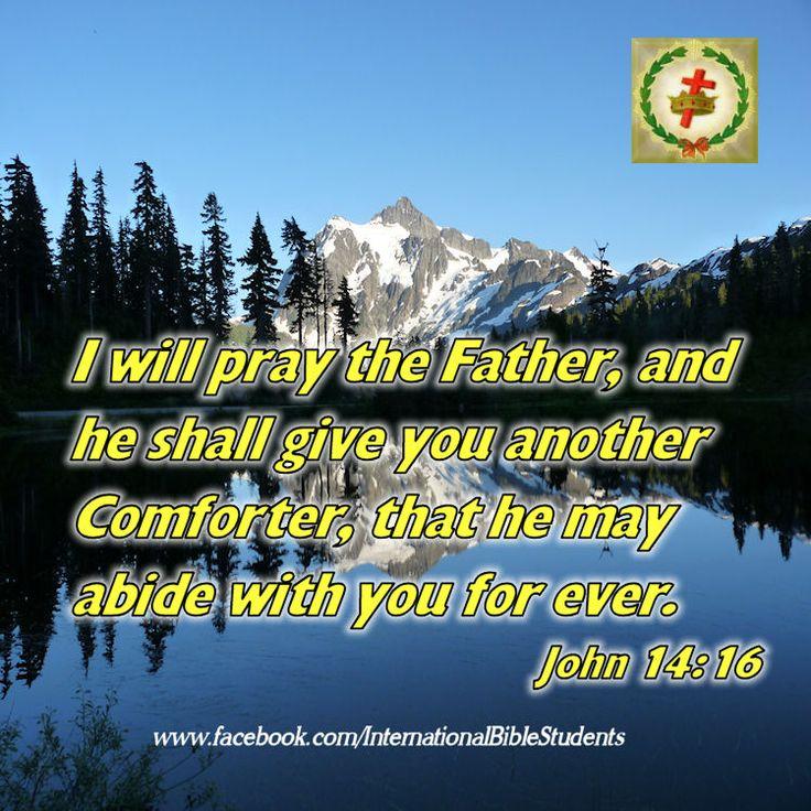 John 14:16 Comforter