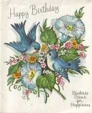 """Résultat de recherche d'images pour """"feliz compleanos vintage card"""""""