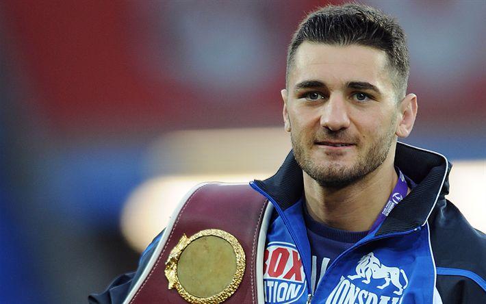 Lataa kuva Nathan Taitavasti, Brittiläinen nyrkkeilijä, maailmanmestari, muotokuva, nyrkkeily, Wales