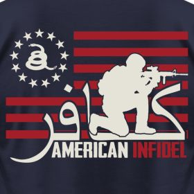 Soldier | American Infidel Inc...I will not bow to those who take our freedoms in the name of safety. I will not bow to a religion that destroys peoples God given rights.