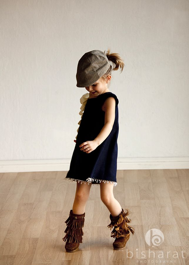 Toddlers rock. How sweet is this pic?: Little Girls Outfits, Kids Style, So Cute, Cute Outfits, Kids Fashion, Dresses, Daughters, Boots, Socute