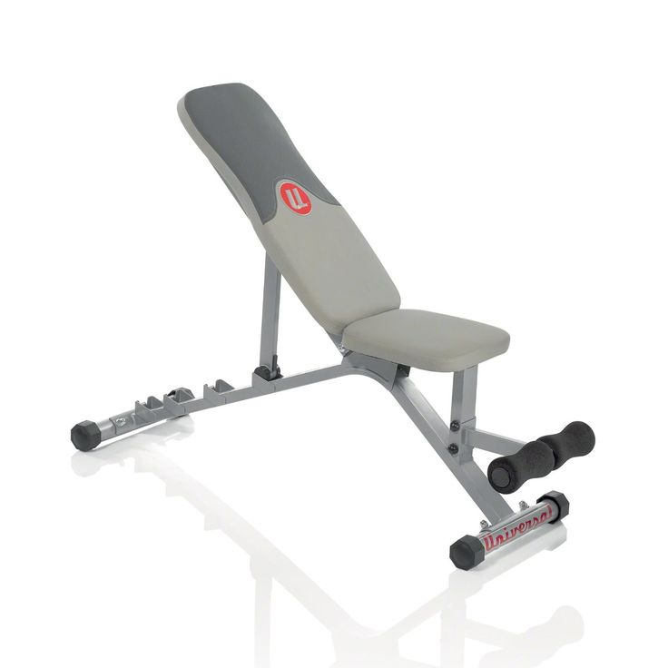 Forget about those cheap multi-gym benches that you see at the big box stores and set your sights on a real Olympic lifting bench designed to fit a 7 foot bar. You need to know that the bench can easily handle your body weight plus whatever weight you are presing. That means that you'll need a decent padded bed to lie on. To check if the padding is sufficient, you can press your thumb into the middle of the pad and see if you can touch the base. If you can, the padding isn't thick enough.
