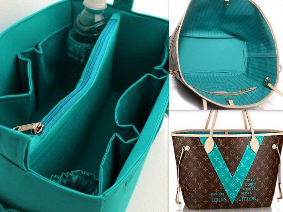 Louis Vuitton Neverfull GM diaper purse insert  by daffysdream