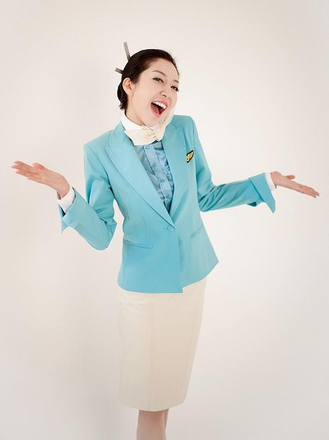 Korea Air flight attendant