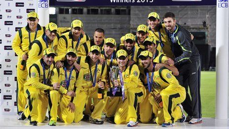 England v Australia: Shane Watson century seals series win