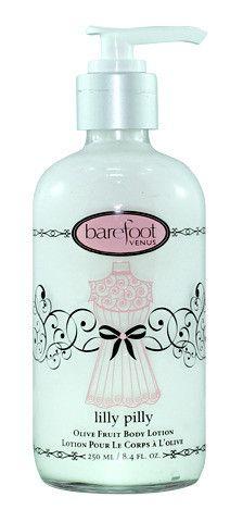 Nourishing fragrant body lotion.