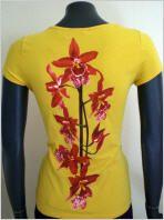 Isabel de Pedro Shirt kurzarm in gelb #OUTLETMODE, #Designeroutlet, #Outlet, #MODE , #Shirt,  #Bluse  - #DESIGNERMODE GÜNSTIG ONLINE alles immer 50% reduziert