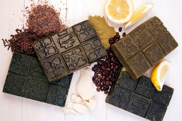 The Ultimate LUSH Henna Guide .. LUSH Cacas (henna) come in four colors for mousy hair through all shades of brown to black, pressed into solid blocks inspired by Russian tea.