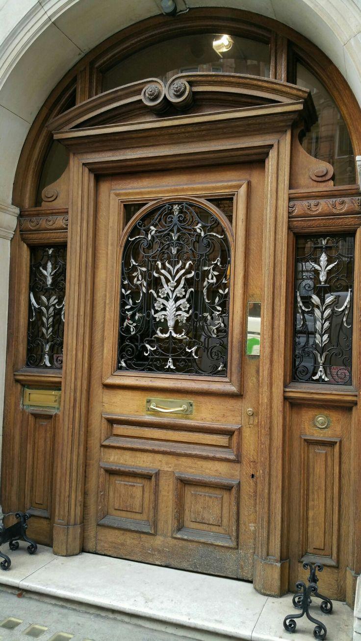 Wooden Door, London