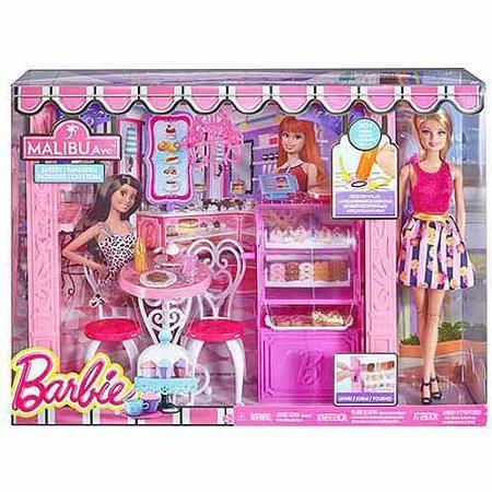 Barbie Bakery Shop With Doll - Walmart.com