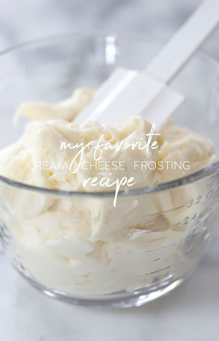 My Favorite Cream Cheese Frosting from @inspiredbycharm